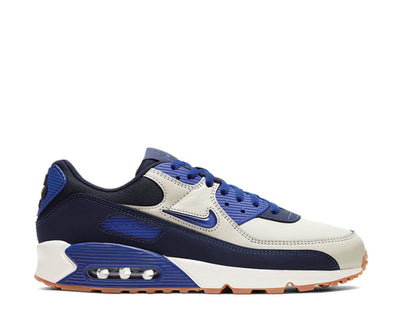 Nike Air Max 90 Premium Sail / Concord - Blackened Blue CJ0611-102