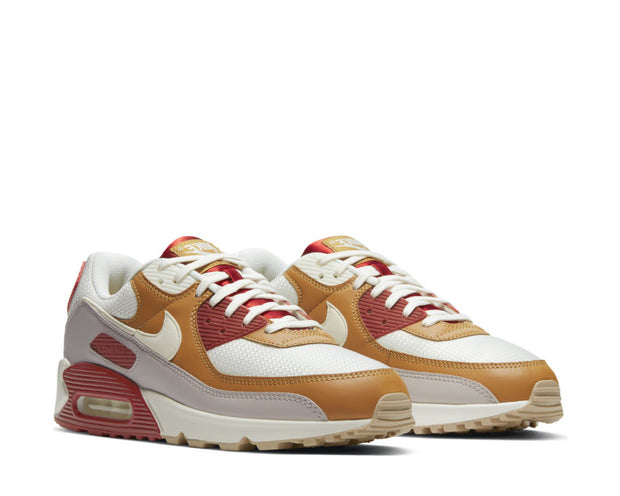 Nike Air Max 90 Rugged Orange / Sail - Wheat - Gum Light Brown CV8839-800