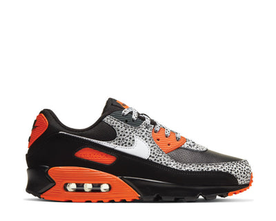 Nike Air Max 90 Safari Black / Safety Orange - White DA5427-001
