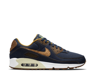 Nike Air Max 90 SE Obsidian / Wheat - Coconut Milk - White DD0385-400