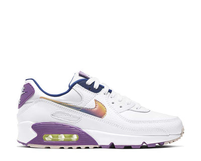 Nike Air Max 90 SE White / Multi Color - Purple Nebula CJ0623-100