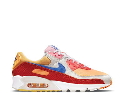 Nike Air Max 90 W Campfire Orange / Racer Blue - Sail DJ8517-800