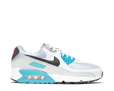 Nike Air Max 90 White / Iron Grey - Chlorine Blue CV8839-100