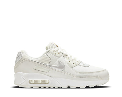 Nike Air Max 90 Wmns White / Summit White - Dark Beetroot DC1161-100