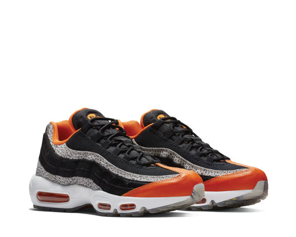 separation shoes ee239 6ff89 Nike Air Max 95 Black Black Granite Safety Orange AV7014-002 .