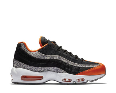 Nike Air Max 95 Black Black Granite Safety Orange AV7014-002