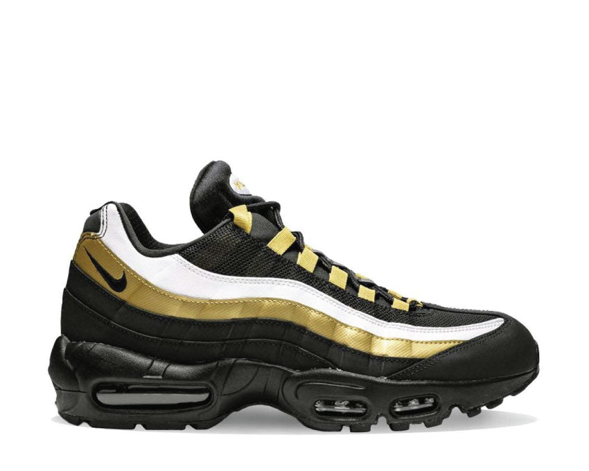 detailed look 11466 14476 Nike Air Max 95 OG Black Metallic Gold