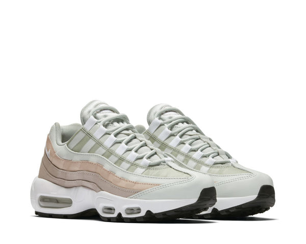 sneakers for cheap cbe2b a720a ... Nike Air Max 95 Light Silver White Moon Particle 307960 018 ...