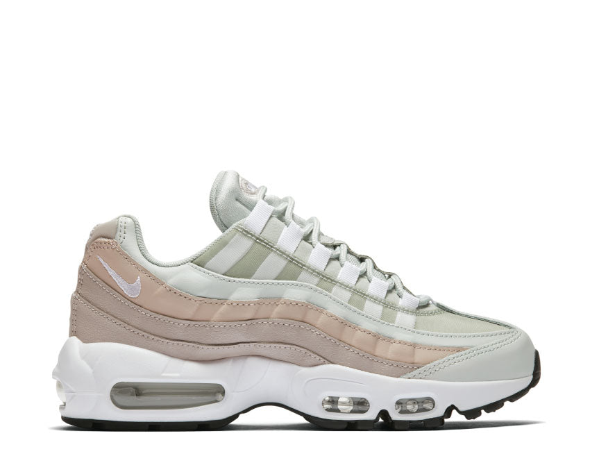 Nike Air Max 95 Light Silver White Moon Particle 307960 018