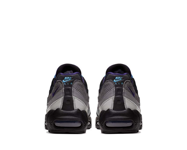 Nike Air Max 95 LV8 Black / Court Purple -Teal Nebula AO2450-002