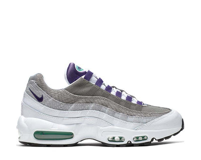 Nike Air Max 95 LV8 White Court Purple Emerald Green AO2450-101