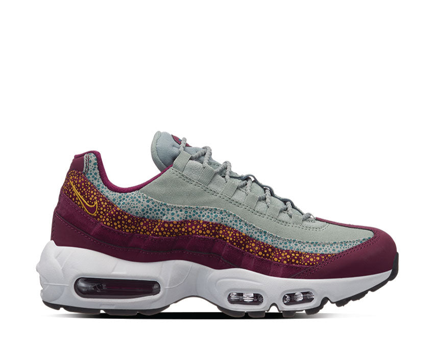 Nike Air Max 95 Premium Bordeaux Yellow Ochre 807443-601