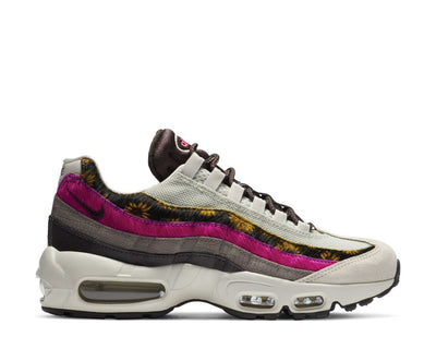 Nike Air Max 95 Prm Light Bone / White - Velvet Brown - Olive Grey CZ8102-001