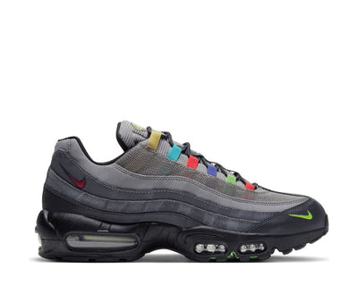 Nike Air Max 95 SE Light Charcoal / University Red - Black CW6575-001