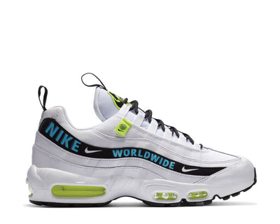 Nike Air Max 95 SE White / Blue Fury - Volt - Black CT0248-100