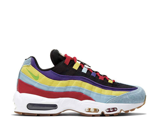 Nike Air Max 95 SP Psychic Blue / Chrome Yellow - White CK5669-400