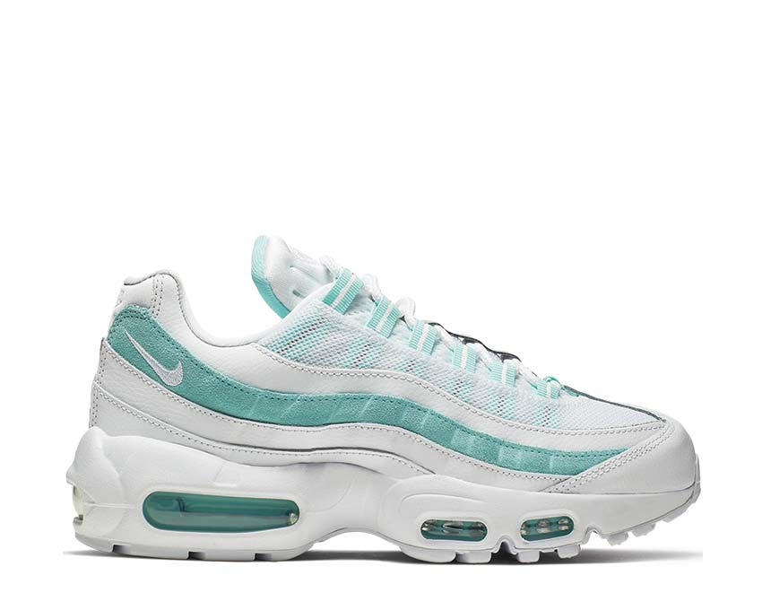 Nike Air Max 95 White Light Aqua 307960-115