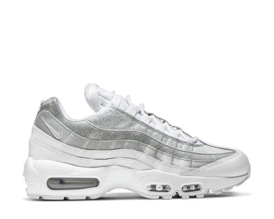 Nike Air Max 95 W White / White - Metallic Silver DH3857-100