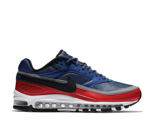 Nike Air Max 97 BW Deep Royal Blue Black University Red AO2406-400