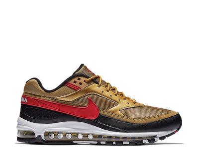 Nike Air Max 97 BW Metallic Gold University Red White Black AO2406-700