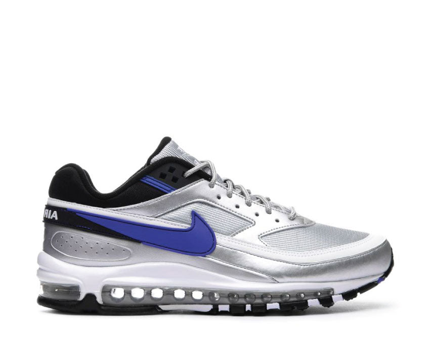 Nike Air Max 97 BW Metallic Silver Persian Violet Black AO2406-002