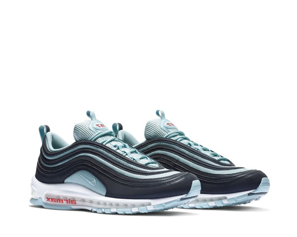 outlet store a375d 7d216 ... Nike Air Max 97 Premium Dark Obsidian Ocean Bliss University Red AV7025- 400 ...