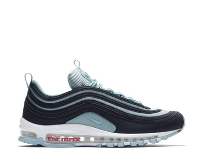 Nike Air Max 97 Premium Dark Obsidian Ocean Bliss University Red AV7025-400