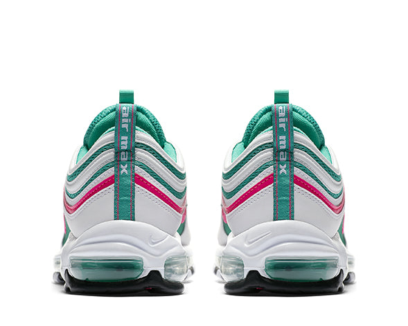 ... Nike Air Max 97 White Pink Kinetic Green 921826-102 62015fb85