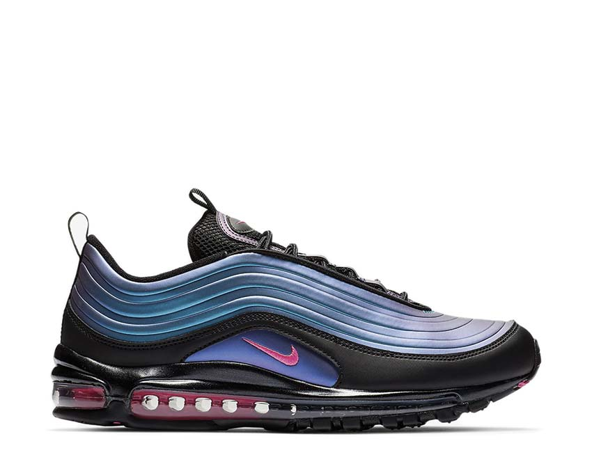 Nike Air Max 97 LX Black Laser Fuchsia Thunder Grey AV1165 001