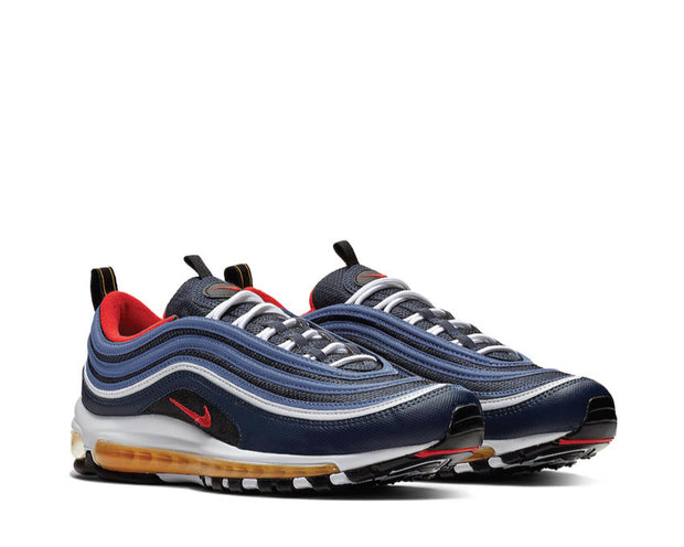 Sneakers Nike Air Max 97 midnight navy habanero red