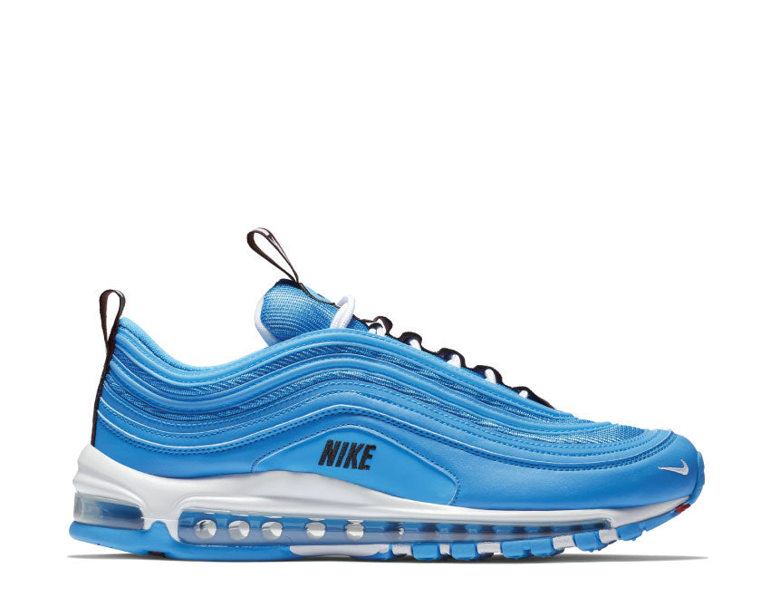 Nike Air Max 97 Premium Blue Hero White Black Varsity Red 312834-401