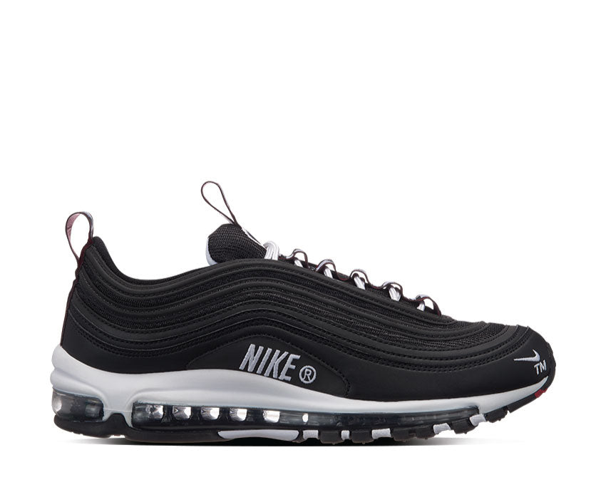 Nike Air Max 97 Premium Black White Varsity Red 312834-008