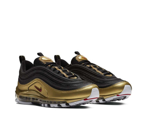 hot sale online 4b011 5a9dc ... Nike Air Max 97 QS Black Gold
