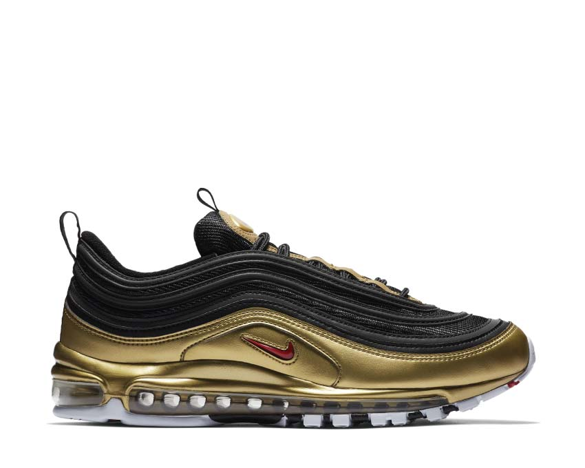 Nike Air Max 97 QS Black Varsity Red Metallic Gold White AT5458-002