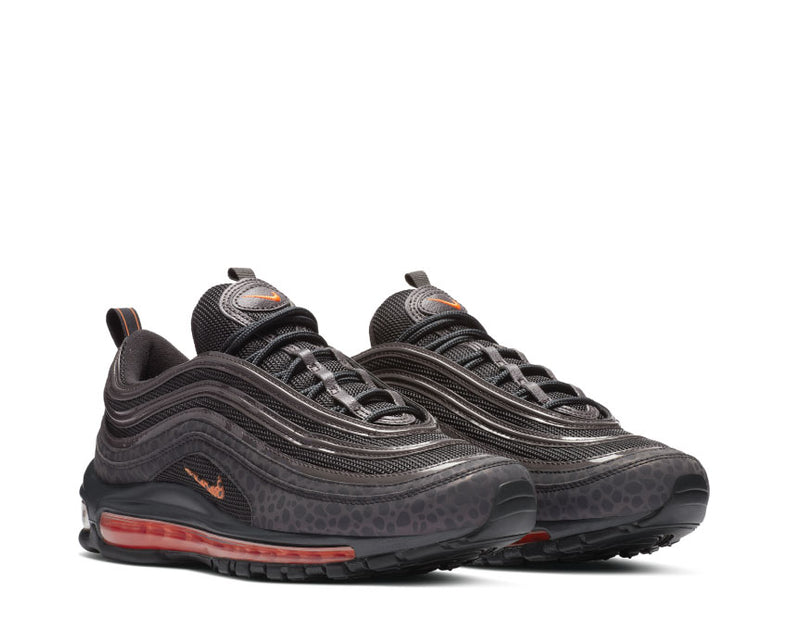 Nike Men Air Max 97 Se Reflective Off NoirTotal Orange Thunder Grey