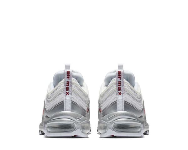 9417424f85f ... Nike Air Max 97 QS White Varsity Red Metallic Silver Black AT5458-100  ...