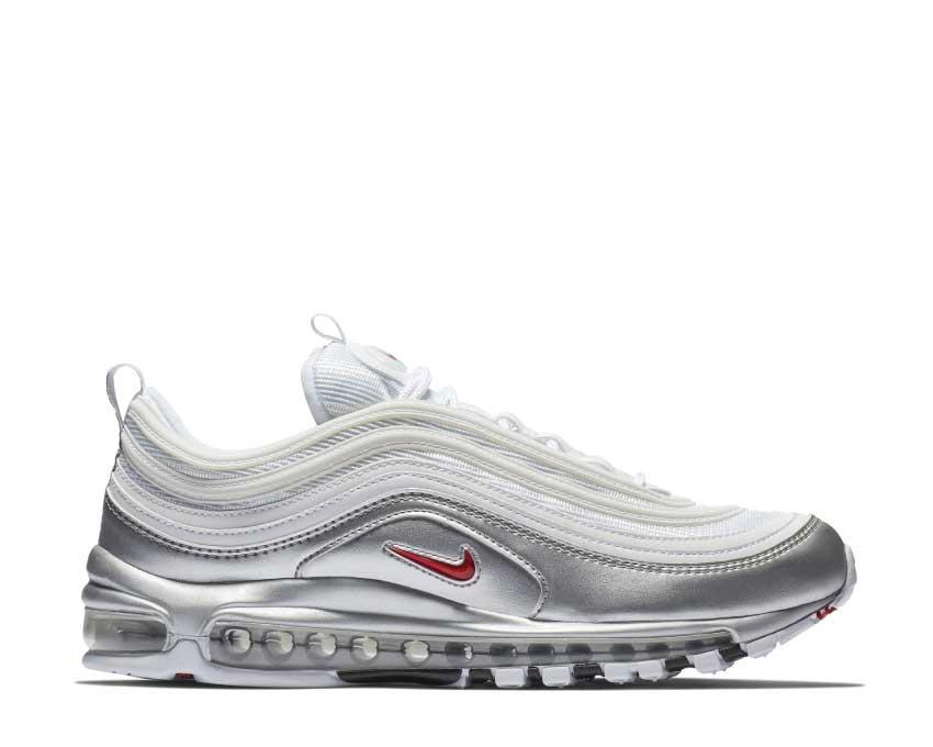 Nike Air Max 97 QS White Varsity Red Metallic Silver Black AT5458-100