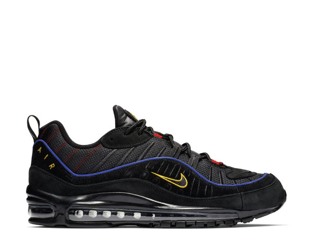 Nike Air Max 98 Black Amarillo University Red CD1537-001