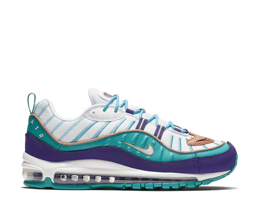 Nike Air Max 98 Court Purple Terra Blush Spirit Teal 640744-500