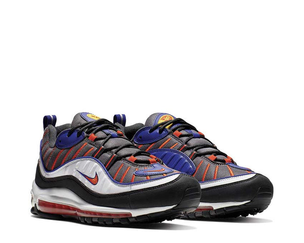 Nike Air Max 98 Gunsmoke Team Orange Laser Orange White 640744-012