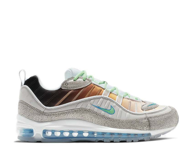 Nike Air Max 98 OA GS Vast Grey / Electro Green - Blue Hero - White CI1502-001