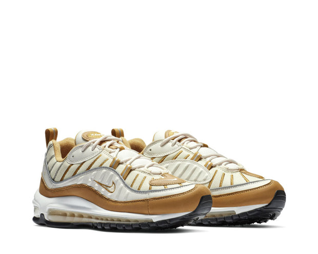 Nike Air Max 98 Phantom Beach Wheat Reflect Silver AH6799 003