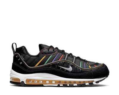 Nike Air Max 98 PRM Black Flash Crimson Kinetic Green BV0989-023