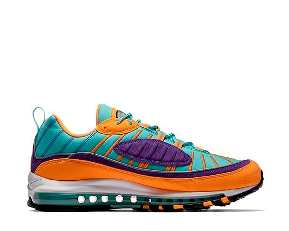 big sale a9180 5be6d Nike Air Max 98 QS Cone 924462-800 - NOIRFONCE