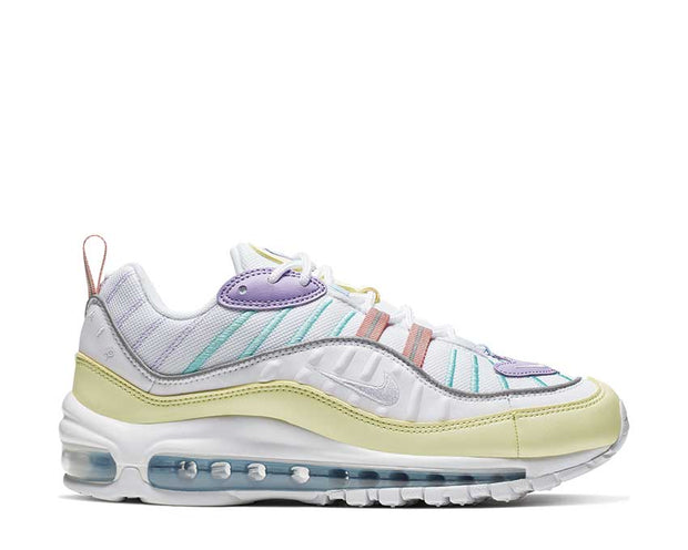 Nike Air Max 98 W Luminous Green White Atomic Violet AH6799-300