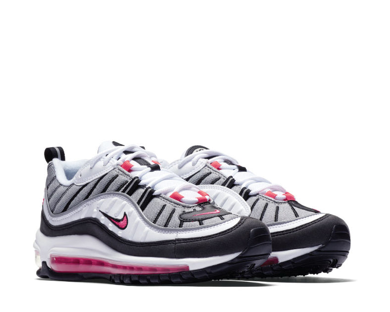 various colors 775e7 a7466 Nike Air Max 98 White Solar Red