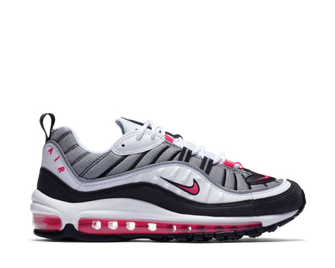 Nike Air Max 98 White Solar Red