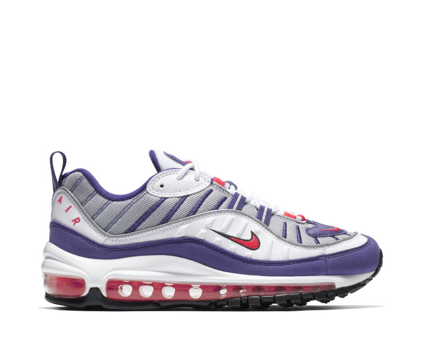 Air Max 98 White Racer Pink Reflect Silver Black AH6799 110