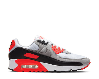 Nike Air Max III White / Black - Cool Grey - Radiant Red CT1685-100