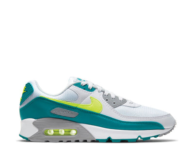 Nike Air Max III White / Hot Lime - Spruce - Grey Fog CZ2908-100